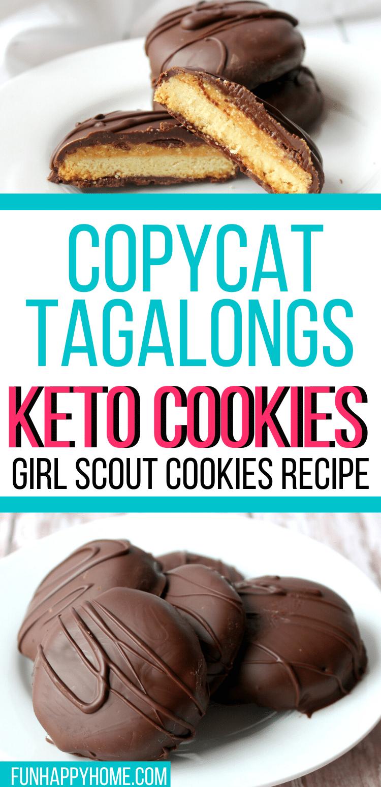 Tagalongs Keto Cookies: Copycat Girl Scout Cookies Recipe