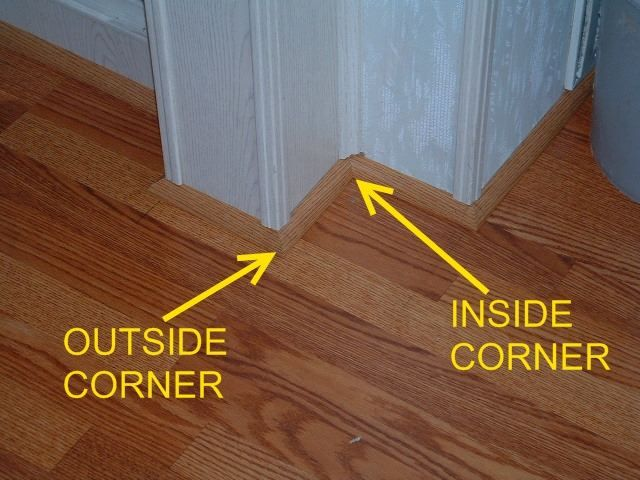 45 Degree Outside Corner Molding