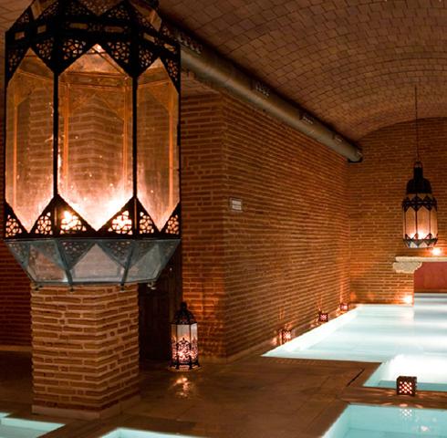 Salt, mineral, steam and jacuzzi baths...deep underground