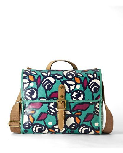 Key-Per Flap Cross-Body Bag - Rose
