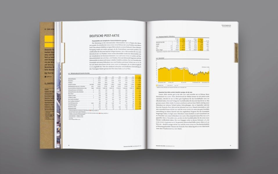 Deutsche Post DHL Annual Report 2011 Graphis Deutsche