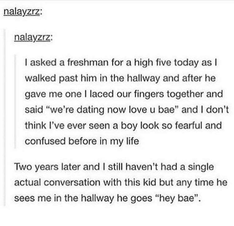high school story dating wes