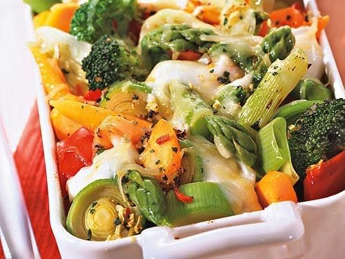German Vegetable Casserole-I love this stuff because it doesn't have cheese and it has the best veggies in it
