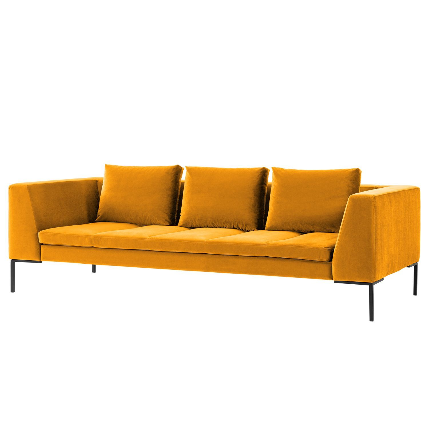 Sofa Madison 3 Sitzer Samt Sofa Mit Relaxfunktion Couch Mit Schlaffunktion Sofa Stoff