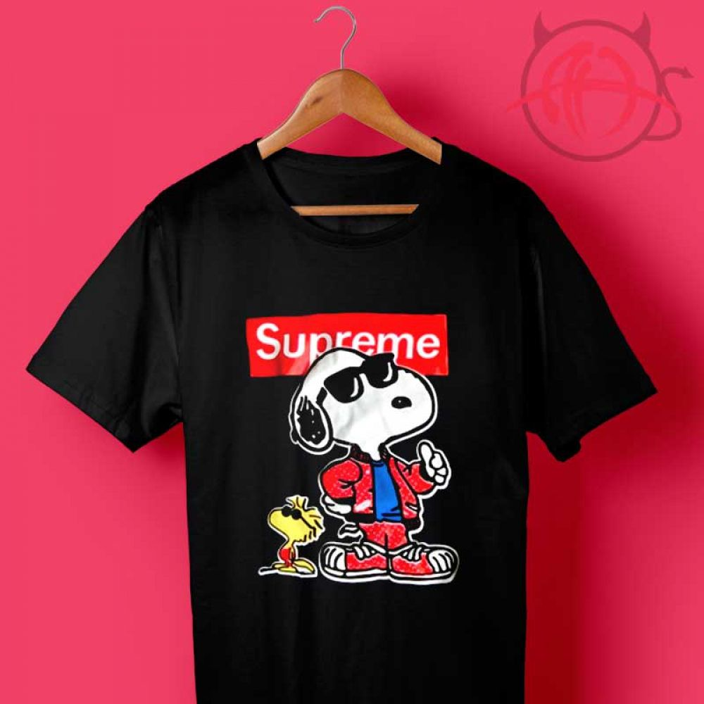 f8e6aa54c Grunge Snoopy Supreme Collab T Shirt Price : $14.50 Check out our brand new  !!