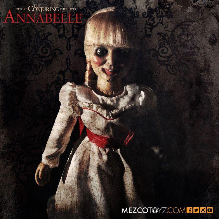 Conjuring Die Heimsuchung Replik Puppe Annabelle 46 Cm Annabelle Puppe Zauberer Annabelle Horror