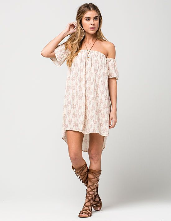 ab75fd2d4ed BILLABONG Off The Shoulder Dress