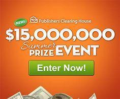 PCH NBC $15,000,000 Summer Prize Event SuperPrize 8800