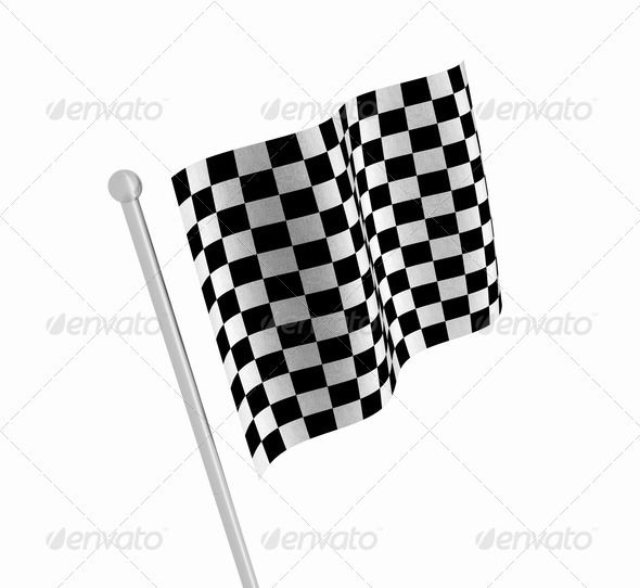 Checkered Flag Checkered Flag Graphic Checkered