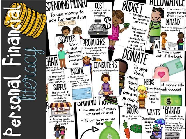 Pin On Social Studies 4th grade financial literacy worksheets