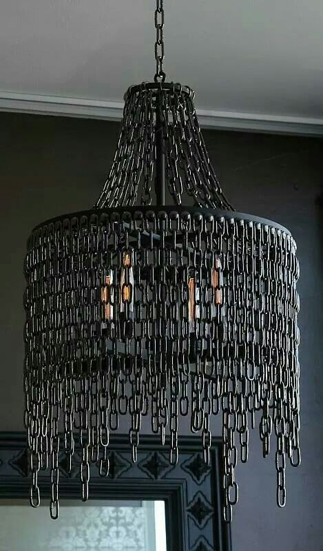 chain chandelier props pinterest chandeliers lights and lamp