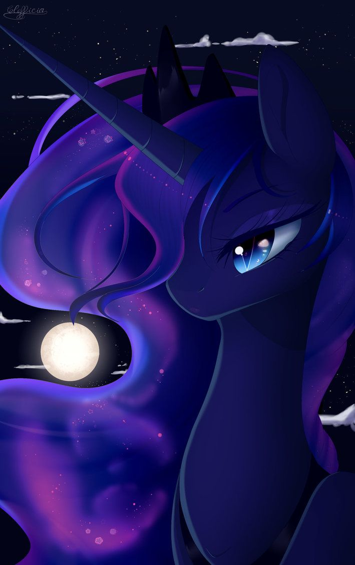 Mlp Luna Wallpaper Princesa Luna Dibujos Imagenes My Little Pony
