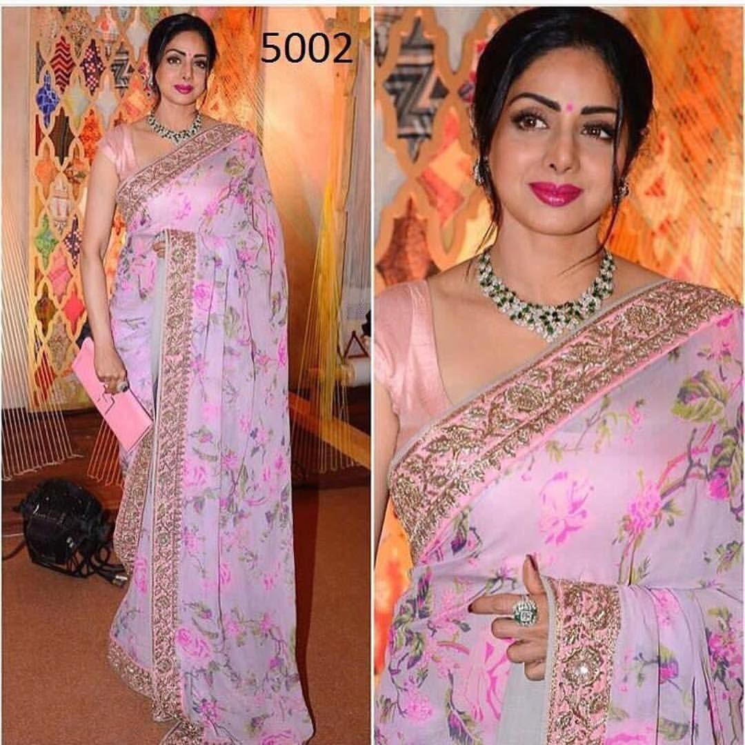 Pink floral Saree To purchase this product