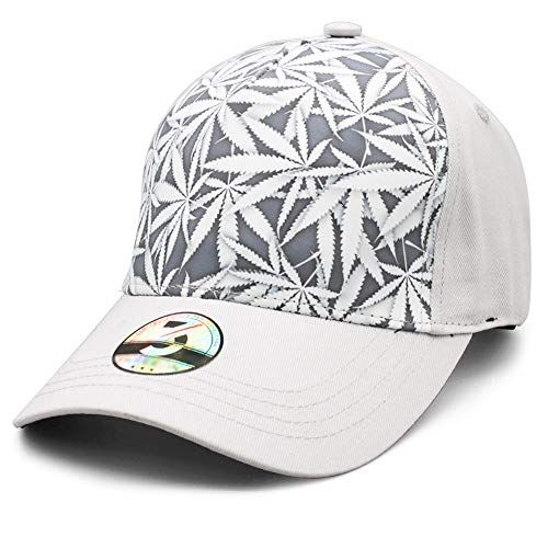 fd5f2211 Ann Lloyd Custom Baseball Cap Cannabis Leaves & Skull Printed Baseball Hat  Adjustable Hat