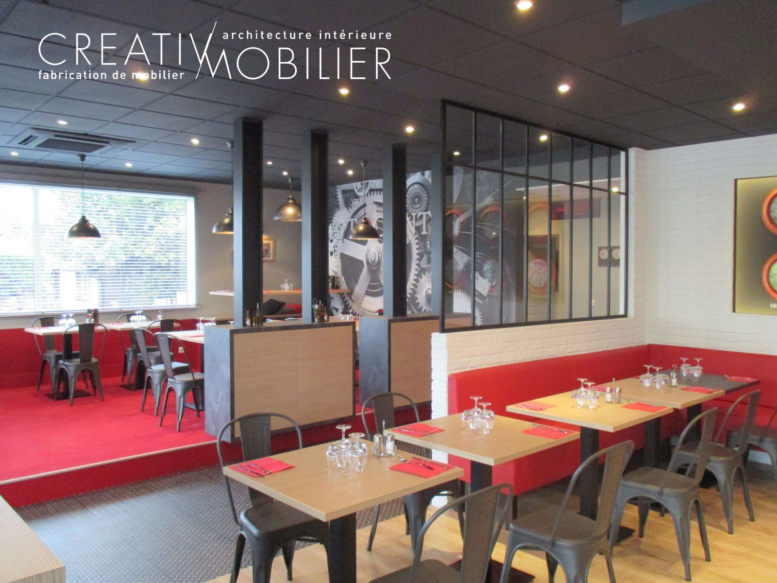 Angers restaurant agencement mobilier dcoration architecture