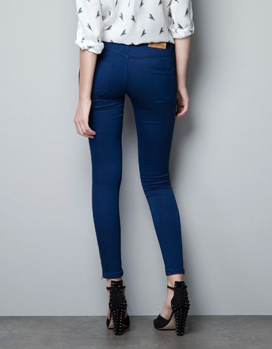 Zara hose stretch