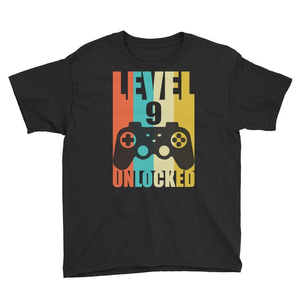 9th Birthday Shirt, Nine Year Old Birthday, 9 Years Old