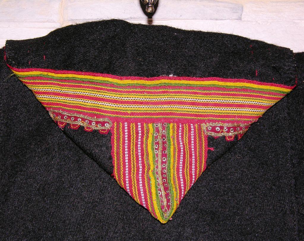 All sizes | Hood detail, Man's Jacket, Krabbe, Albania | Flickr - Photo Sharing!