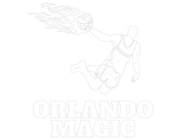 Printable Orlando Magic Coloring Sheet Nba Coloring Sheets