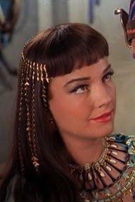 "Anne Baxter, looking beautiful in ""The Ten Commandments"" (1956)."