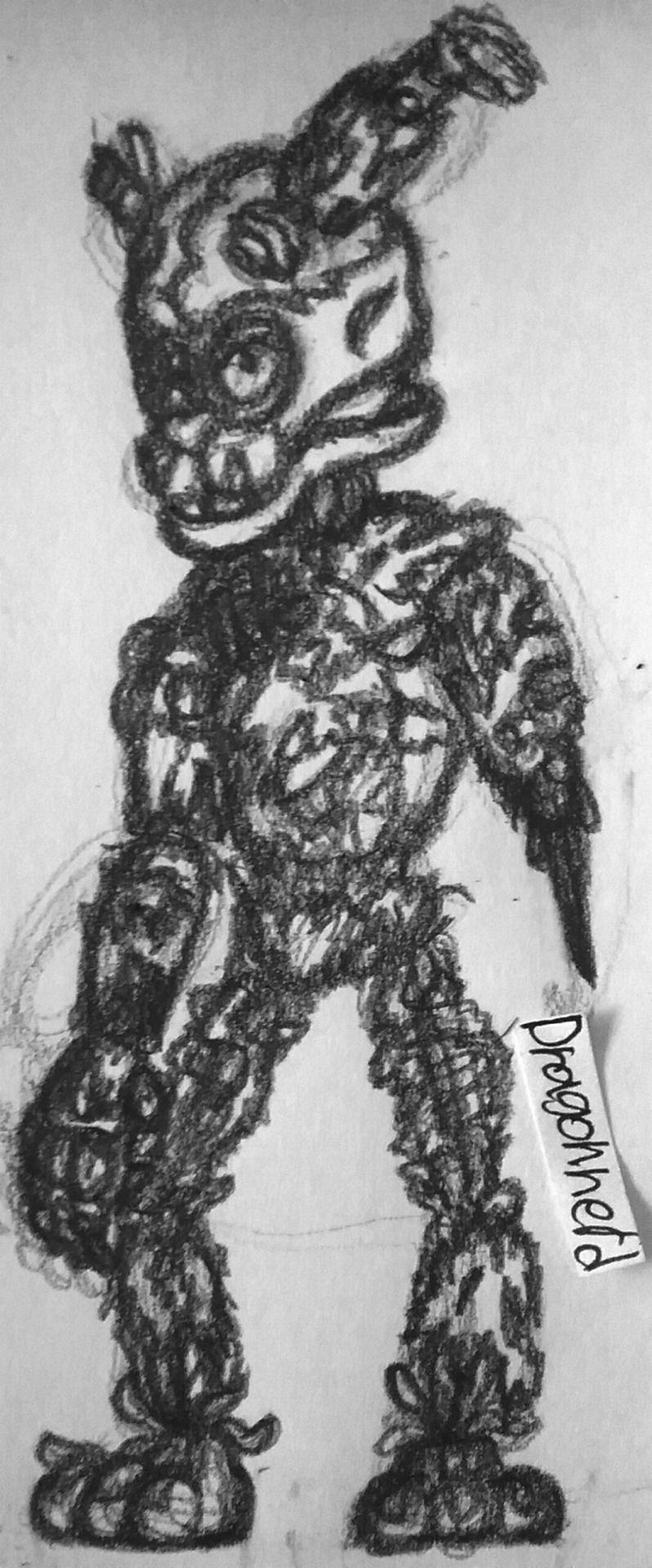 """baby-teddy-bear: """" springtrap fnaf 6 by Dragonnerd906 Scott"""
