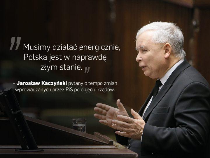 Cytaty tygodnia polityka PiS Jarosław Kaczyński