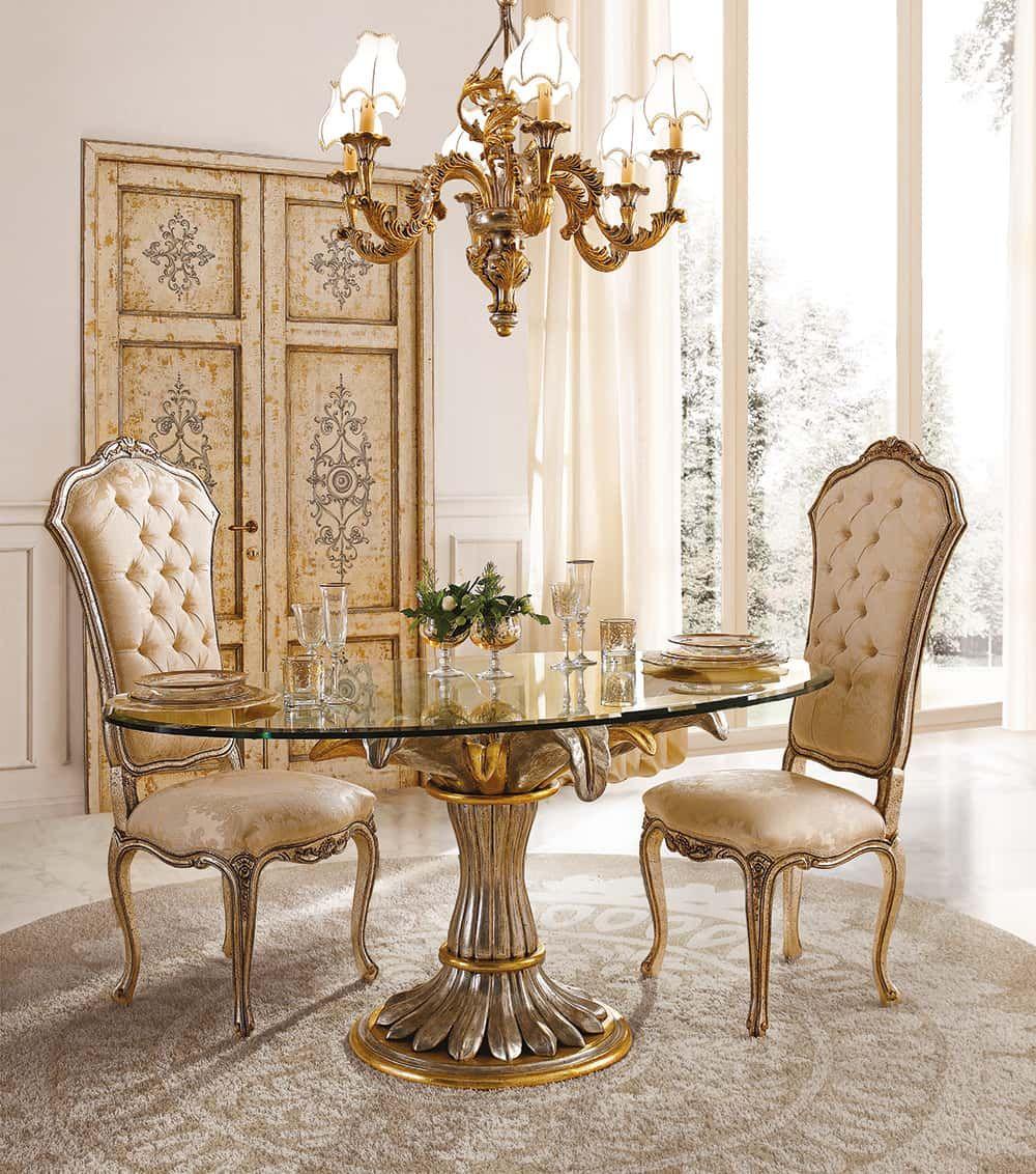 Sala Da Pranzo Country Chic tavolo da cucina classico