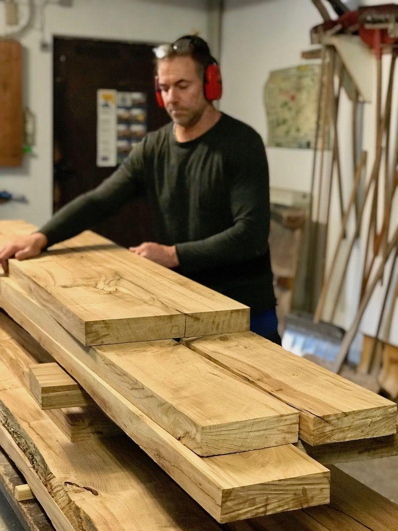 Wir bauen einen Tisch wie aus unserer alten Eiche unser