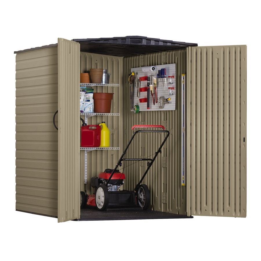 Shop Rubbermaid Roughneck Gable Storage Shed Common 5 Ftx 6 Ft