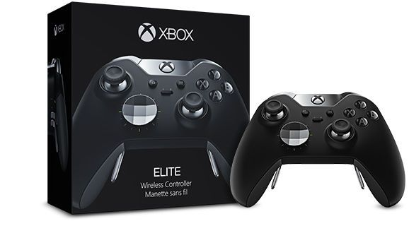 Official Microsoft Xbox One Elite Wireless Controller Black Free Us Shipping New Microsoft Xbox One Elite Controller Xbox One Games Xbox