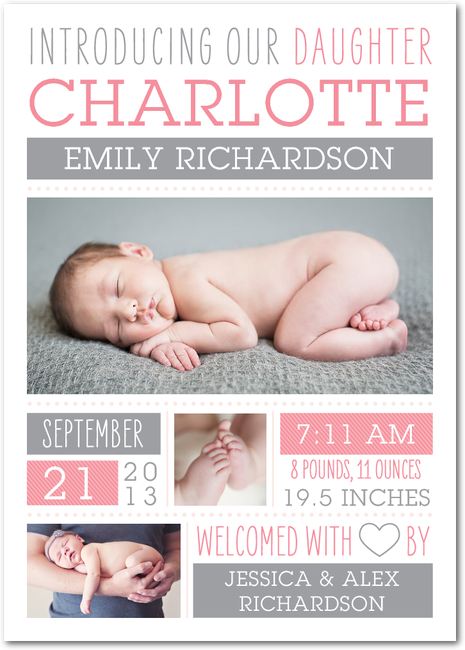 how to write a birth announcement
