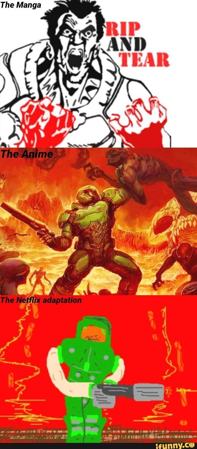 Found on | Doom | Funny, Comics, Manga anime