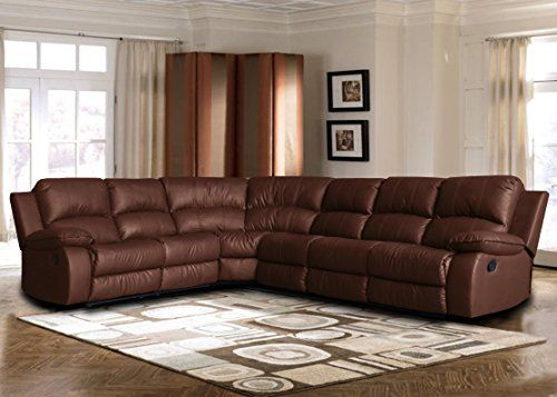 Large Classic Sofa Sectional Traditional Bonded Leather Leathersectionalsofas With Images Corner Sectional Sofa Sectional Sofa With Recliner Leather Sectional Sofas