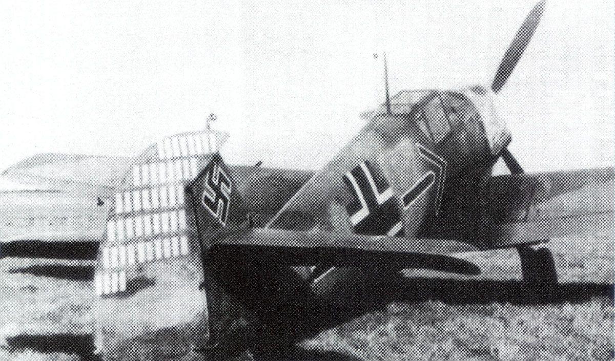 Messerschmitt Bf 109E4 Geschwader Stab JG2 (-+ Helmut Wick WNr 5344-France 1940