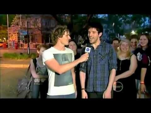 Merlin S4   Colin Morgan on 'The Project - Metro Whip-Around' [2011-11-04] - YouTube