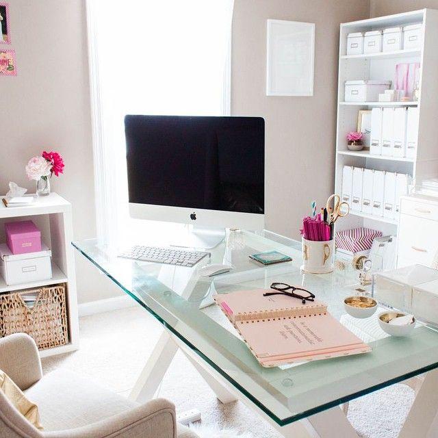 Best Home Office Desk With Table Design Ideas: Office Inspiration Via Nous Decor