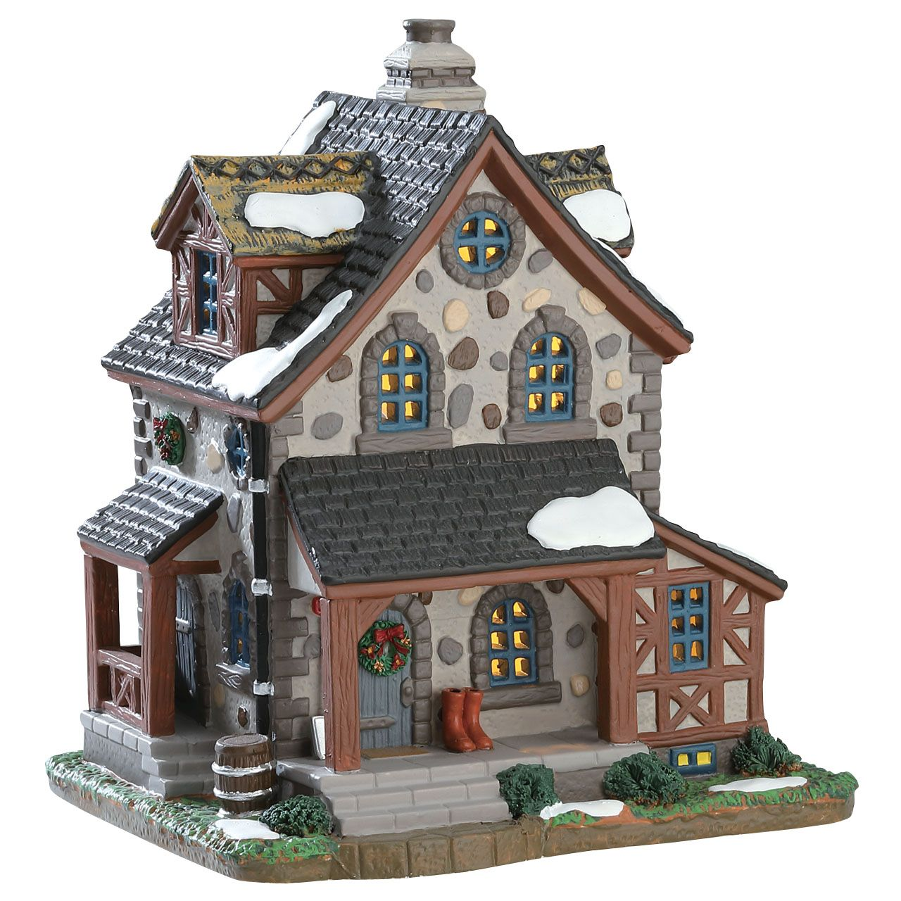 Lemax Belle Vue Cottage verlicht kersthuisje Caddington Village 2017 ...