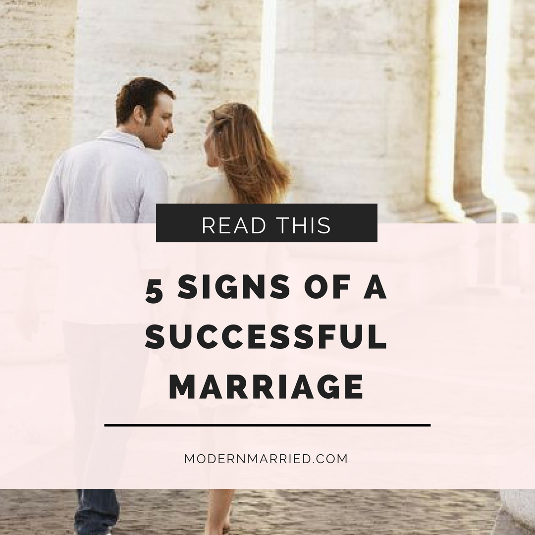 definition of a successful marriage