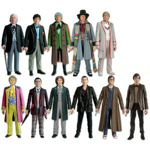 I love the 11 Doctors Figure Set not only because I've been a fan since Tom Baker, but because my sweetie gave the set to me for our 11-month anniversary. :)