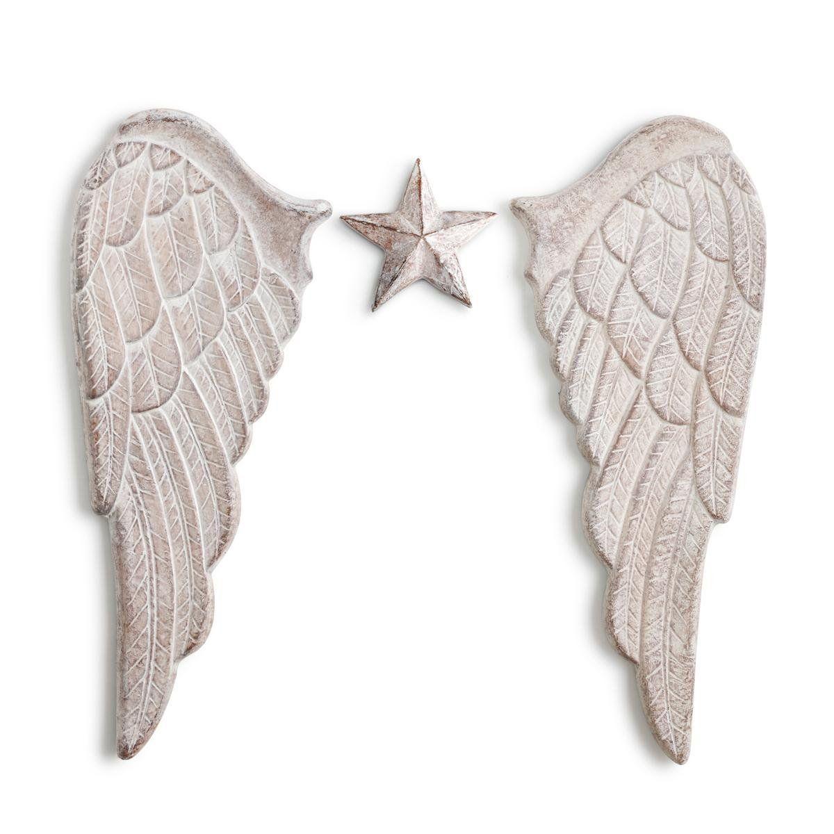 Amazon.com: DEMDACO Silvestri Angel Wings Wall Art: Home & Kitchen ...