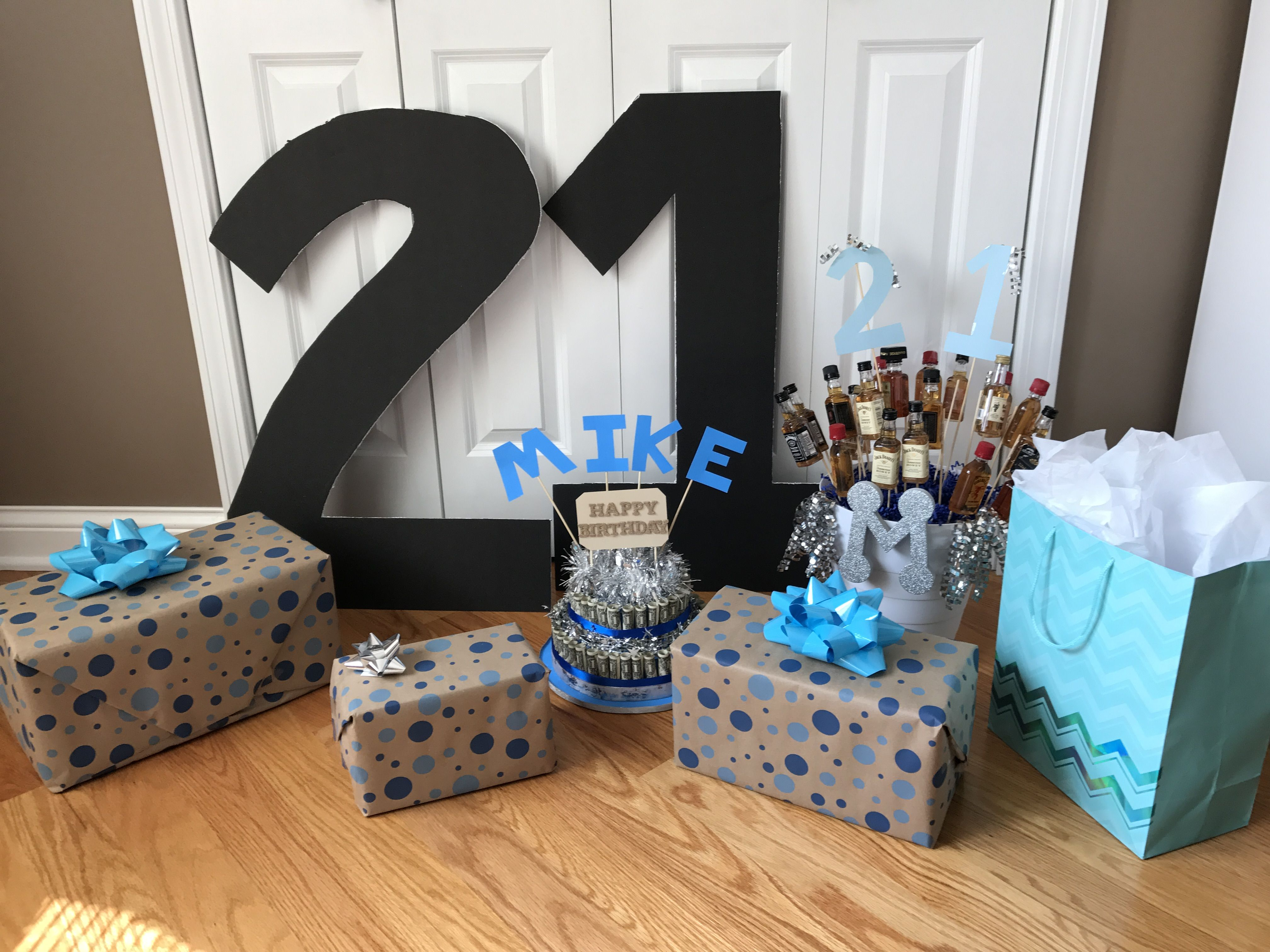 21st Birthday Surprise ideas birthday gifts boyfriend Boyfriend