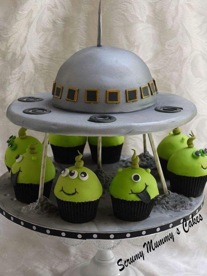 Todo Dulce Alien Cake Party Cakes Kids Cake