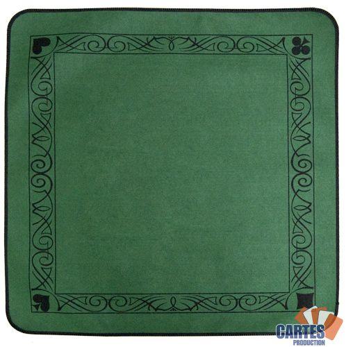 Achetez Votre Tapis Feutre Vert 77 77 Cm Sur Poker Production