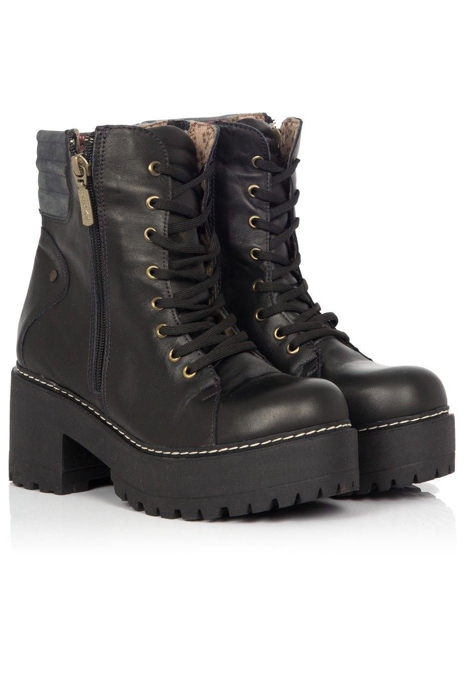 b4c41a28 Borcegos Sulay negro De Martens, Botas Cortas, Zapatos De Moda, Zapatillas,  Zapatos