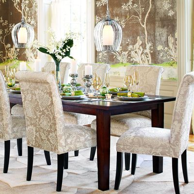 Build Your Own Torrance Mahogany Brown Dining Collection Dining Chairs Dining Table Elegant Dining Room