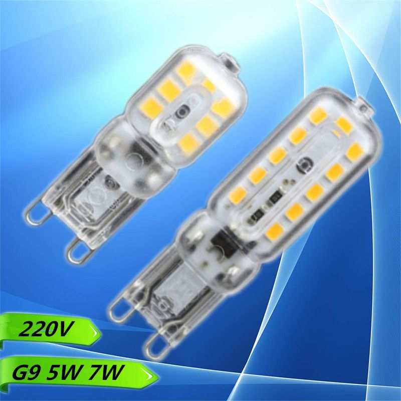 1x G9 Led 5w 7w Ac 220v 240v G9 Lamp Led Bulb Smd 2835 Led G9 Light Replace 30 40w Halogen Lamp Light Warmwhite Cool White Fr Halogen Lamp Led Bulb Lamp Light