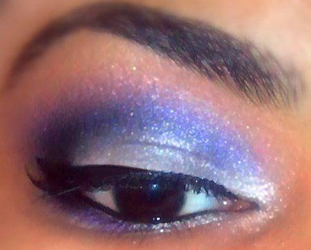 Just a Purple Smokey look :)