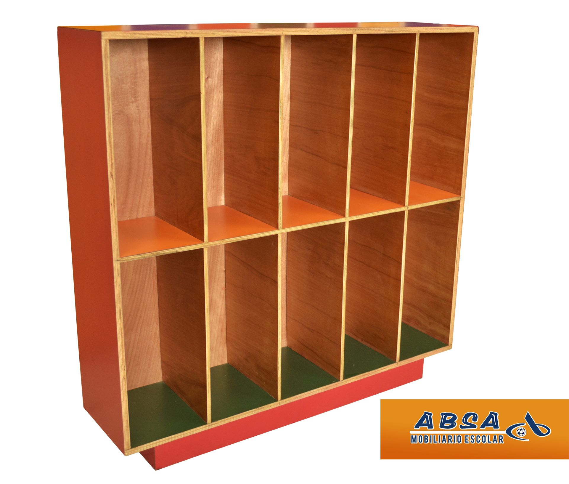 Mueble Escolar para Mochilas   madera   Pinterest   Muebles ...