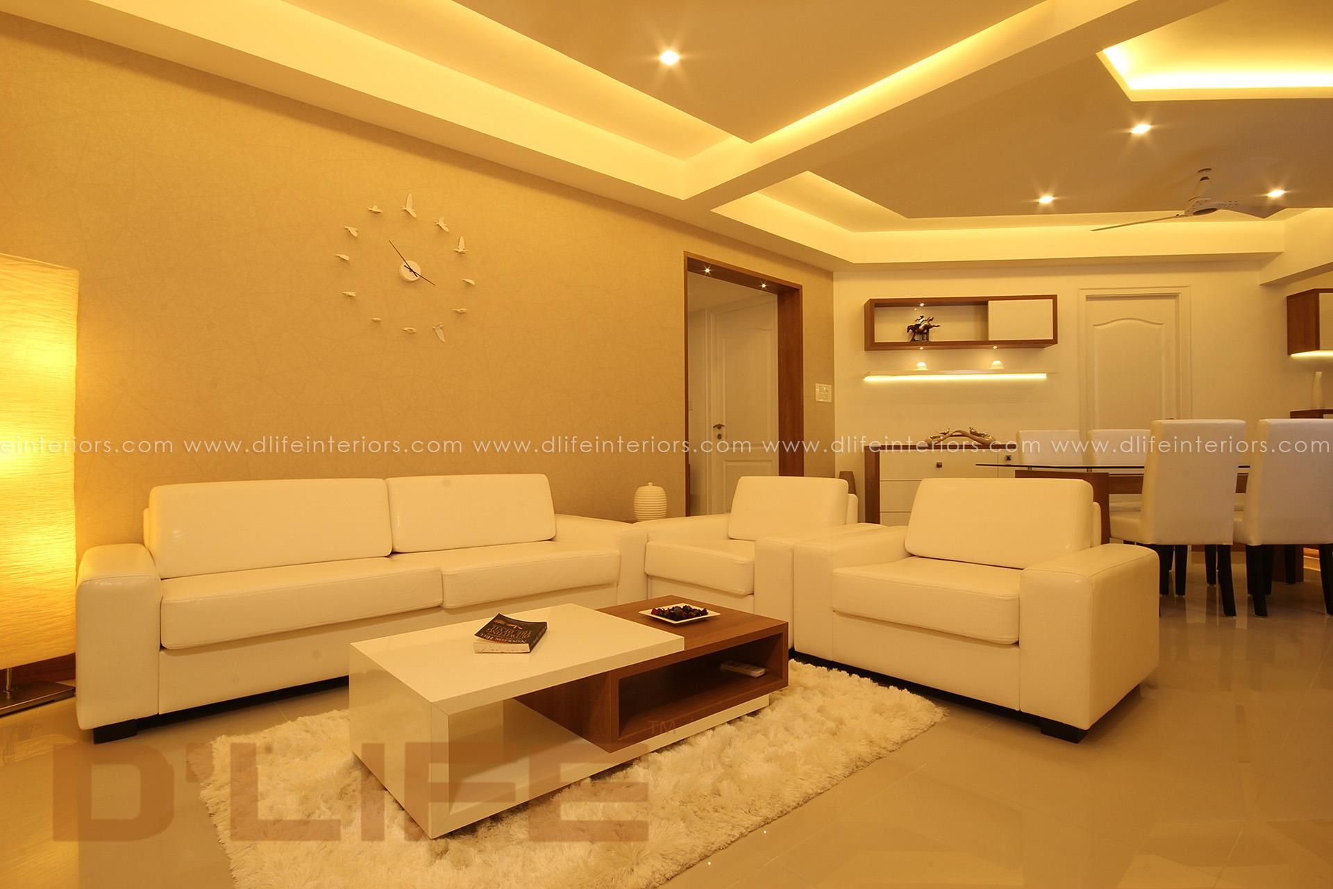 Celebrity Home Interiors At Cochin Designed Executed By DLIFE
