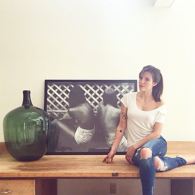 Gorgeous photo of @cparrie and one of her large format photos in our Mercer frame. Stunning! #regram #framebridge